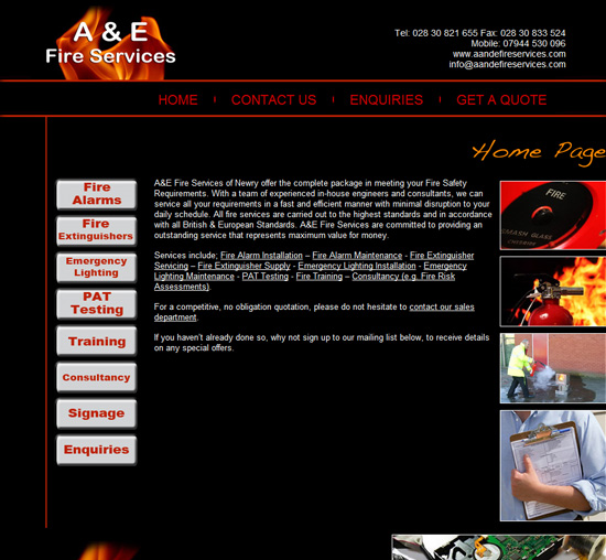 A&E Fire Services