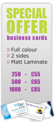 Low cost print and web design, cheap print and websites, Newry - Special Offers
